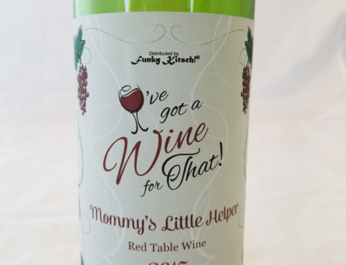 Kitch Wine Bottle